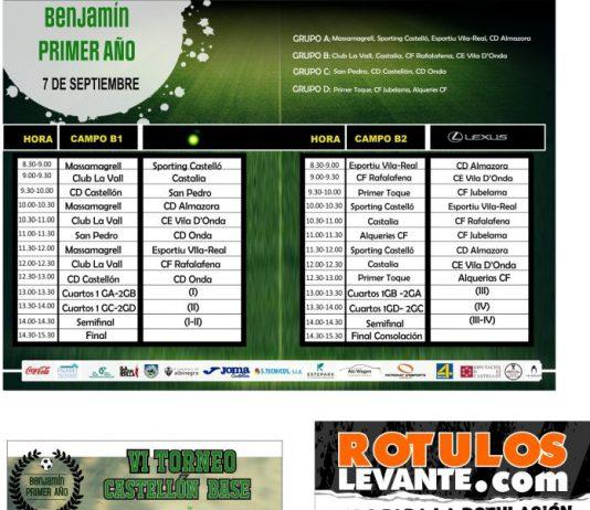Torneo Castelllón Base