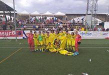 Alineación Villarreal Alevín A