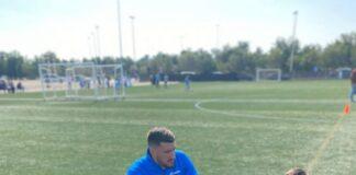 Rubén Canós _entrenando Club LaVall